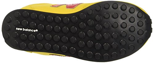 New Balance Nbke410top, gymnastique mixte adulte Jaune (Yellow Red)