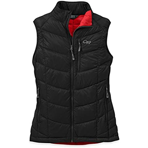 Outdoor Research – Gilet di piumino donna Women' s Sonata Vest, Donna, nero/fiamma, L