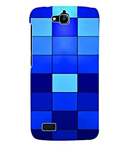 Fuson 3D Printed Pattern Designer Back Case Cover for Huawei Honor Holly - D602