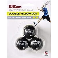 WILSON Unisex-Erwachsene Staff Squash 3 Ball