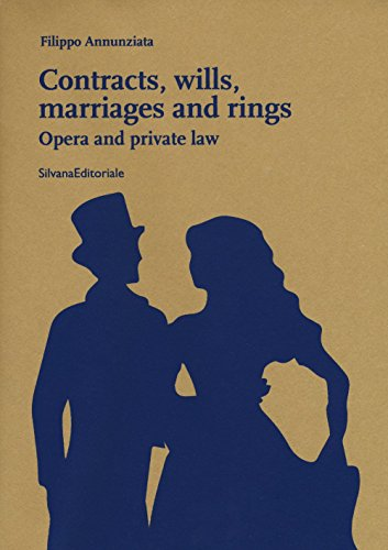 Contracts, wills, marriages and rings. Opera and private law por Filippo Annunziata