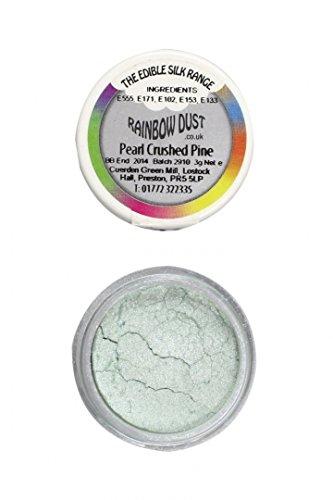 Rainbow Dust Edible Silk Range - Pearl Crushed Pine