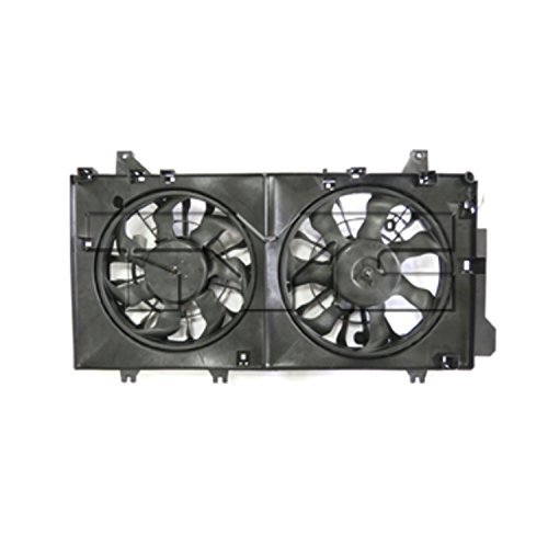 TYC Products 623260 Dual Radiator and Condenser Fan Assembly
