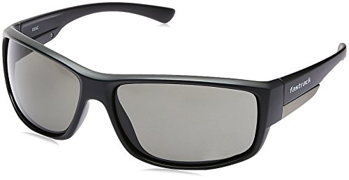 Fastrack Black Sporty Wraps Sunglass For Men-P322BK1  available at amazon for Rs.1174