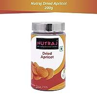 Nutraj Dried Apricots 200g Silver Jar