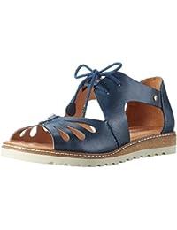 11ccdfb9e Amazon.es  Piel - Sandalias y chanclas   Zapatos para mujer  Zapatos ...