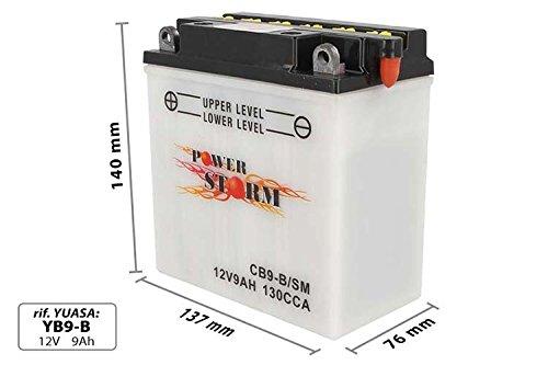 Batteria Moto AGM CB9-B YB9-B 12V 9Ah
