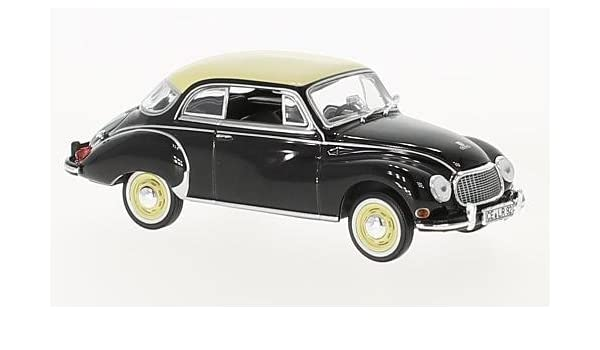 DKW 3=6 Coupe 1958 schwarz Modellauto 1:43 Norev