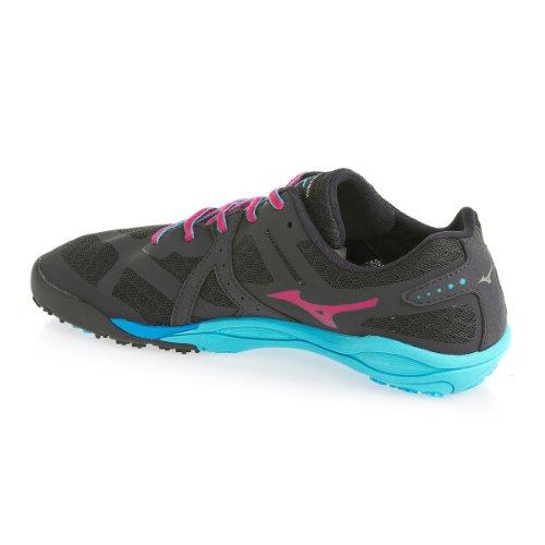 MIZUNO Wave Evo Ferus Scarpa da Trail Running Donna Grigio/Porpora