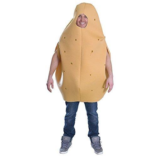 Potato Mens Ladies Fancy Dress Fun Food Stag Adults Womens Costume Outfit New by Bristol (Junk Food Kostüm)