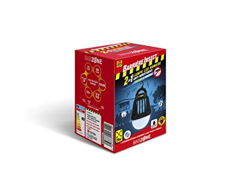 Compo Barrera Bombilla Nomadic [Antimoscas, Antimosquitos, Superficie 25m² Aprox. LED de bajo Consumo, 20h de duración], 13.5 x 9.7 x 9.5 cm