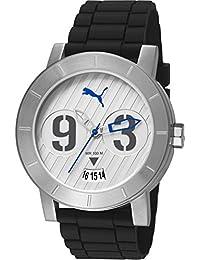 Puma Herren-Armbanduhr Man Deep Silver Analog Quarz PU103571003