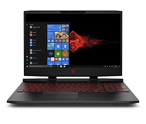 "Omen 15-dc0012ns - Ordenador Portátil 15.6"" FullHD (Intel Core i7-8750H, 16GB RAM, 1TB HDD + 256GB SSD, Nvidia GeForce GTX 1060 6GB, Windows 10) Color Negro - Teclado QWERTY Español"