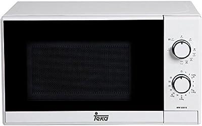 Teka MW 225 G - Microondas con grill, 1050 W, color blanco