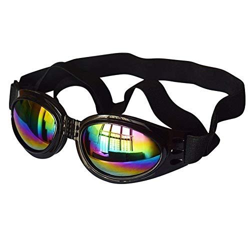 lymty Faltbare PET Sonnenbrille Wind Schutzbrille für Hundeaugen Schutz wasserdicht