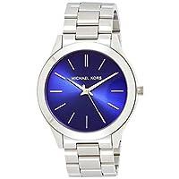 Michael Kors Womens Quartz Watch, Analog Display and Stainless Steel Strap MK3379
