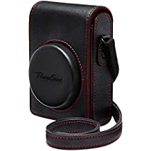 Canon Leather Case - Funda para Canon PowerShot G7X, negro