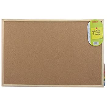 apollo cork memo board brown 60 x 40 cm