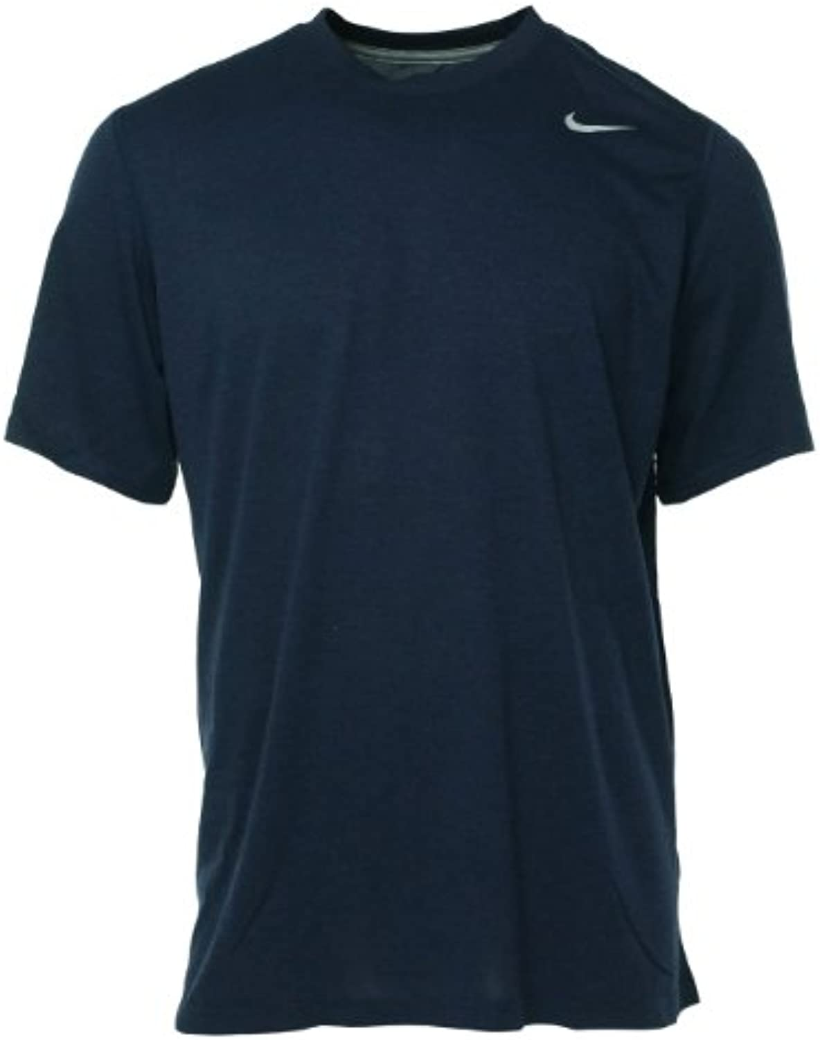 Nike 384407 Legend Dri Fit Short Sleeve Tee   Navy