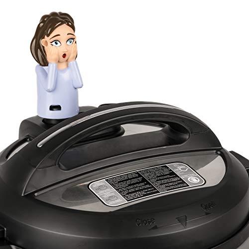 SteamMates Kompatibel mit Instant Pot Zubehör - Dampfreisetzung Umleitung von Dampf auf InstaPot von Schränken - passend für Duo/Smart/Ultra Modelle - passt nicht für Lux oder andere Marken rubinrot (Schnellkochtopf-käsekuchen-pfanne)