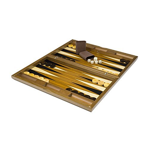 Dal Negro The Oxford Deluxe Backgammon Set (Kabinett Oxford)