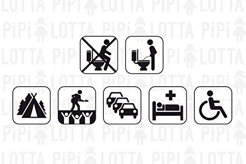 PiPiLOTTA - Frauenurinal für Unterwegs - Hilfe zum Pinkeln im Stehen für Festival, Camping, Reisen in 3 Farben mit Schutzhülle - Urinal für Frauen - 5