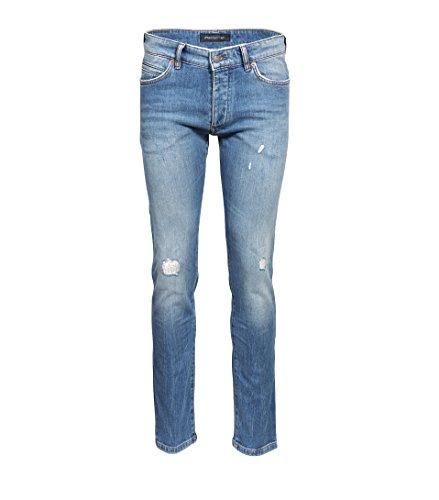Drykorn Herren Jeans Jaz mit Destroyed-Effekten blau 37 Blue wash Destroyed 33W / 34L