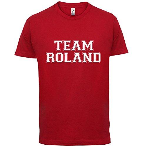 Team Roland - Herren T-Shirt - 13 Farben Rot