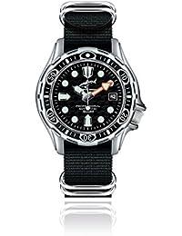 Chris Benz Deep 500m Automatik CB-500A-S-NBS Automatic Mens Watch Diving Watch