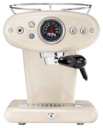Metodo Illy X1Anniversary Espresso e caffè a capsule, Acciaio Inossidabile, Beige