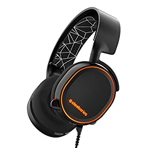 SteelSeries Arctis 5 [Legacy Edition], Gaming-Headset, RGB-Beleuchtung, DTS 7.1 Surround für PC, PC / Mac / PlayStation…
