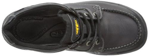 Keen Footwear Hommes Entreprises Dentelle 1009252 Cuir Butin marron Complet Grain noir ou marron Noir