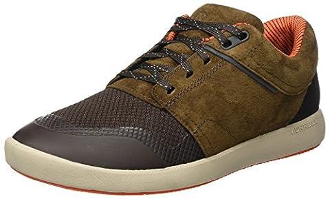 Merrell Herren Freewheel Infuse Lace Sneaker, Braun (Dark Earth), 49 EU