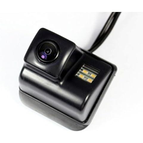 CAM12 - Color Vista posterior de la cámara cámara de visión trasera con líneas de cuadrícula como luz de la matrícula,ayuda sensor de aparcamiento para MAZDA 3/3 MPS , MAZDA 6 , MAZDA