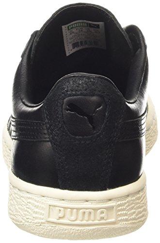 Puma Basket Citi Series, Unisex-Erwachsene Sneakers Schwarz (black-whisper white 03)