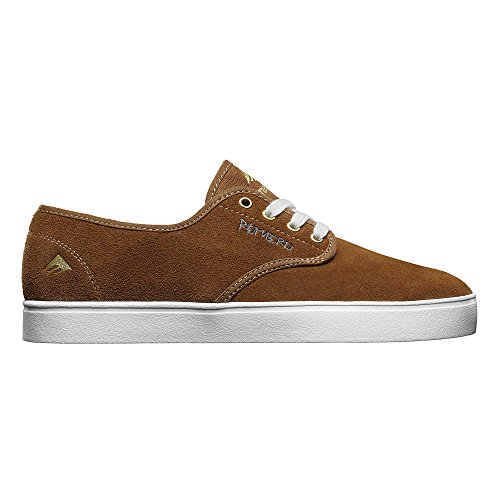Emerica Laced By Leo Romero-M, Baskets mode homme marron/blanc