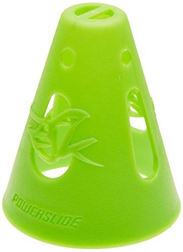 Powerslide Erwachsene Kegel Cones 10-Pack Grün, 70x80mm -