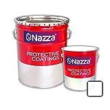 Pintura Epoxi Bicomponente Alimentaria Nazza | Apta para estar en contacto con alimentos y bebidas | Color Blanco | 2,4 L + 1 L
