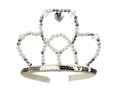 Rose & Romeo - 11016 - Accessoire Pour Déguisement - Chapeau - Libby - Argent