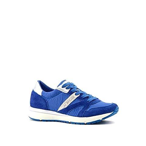 Basket Cafe Noir - CAFèNOIR Ea911, Baskets Basses Femme, Bleu-Bleu, 37