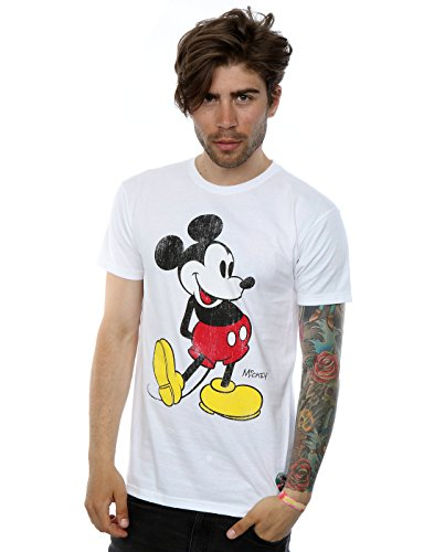 Mouse Classic Kick T-Shirt Small Weiß ()