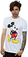 Disney Homme Mickey Mouse Classic Kick T-Shirt