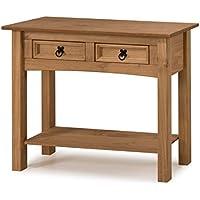 Mercers Furniture Corona 2-Drawer Console Table - Pine