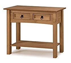 Mercers Furniture Corona 2-Drawer Console Table - Pine