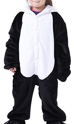 Ilovesia pigiama unisex a tutina per bambini con animali multicolore panda