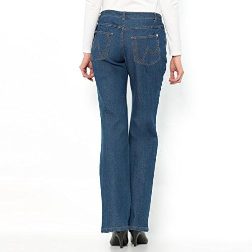 Anne Weyburn Donna Jeans Denim Stretch, Taglio Svasato Stone