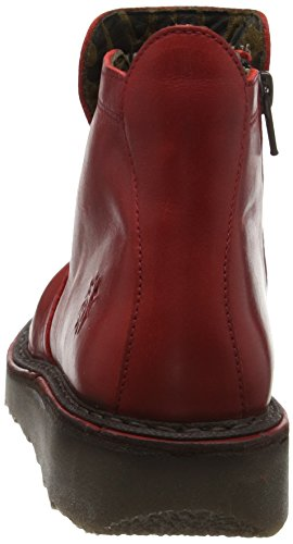 Boots FLY Red Femme Rouge Desert Adit951fly London zxf1qg