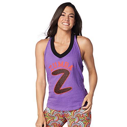 Bild von Zumba Fitness Sparkle On Halter Top Lady Lavender US Size: XXL