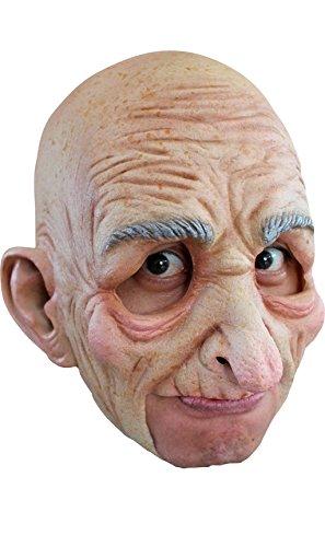 Generique - Alter Mann Maske für Erwachsene Halloween