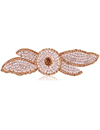 Accessher Designer Studded Back Hair Clip/ Hair Barrette/ Hair Pin Hair Accessories For Women - B074Y1PD6P